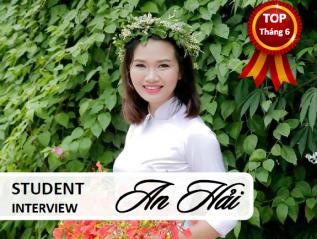 [Phỏng vấn học viên] NGUYỄN ANHẢI