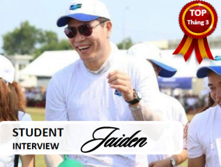 [Phỏng vấn học viên] JAIDENPARK